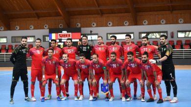 المنتخب الوطني المغربي داخل القاعة
